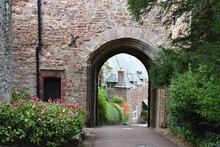 Dunster Is A Former Motte And ...