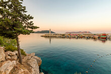 Kas Port Entrance View During ...