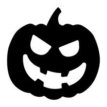 Evil Jack-o-lantern.