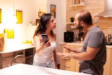 Wife Fighting With Cheating Hu...