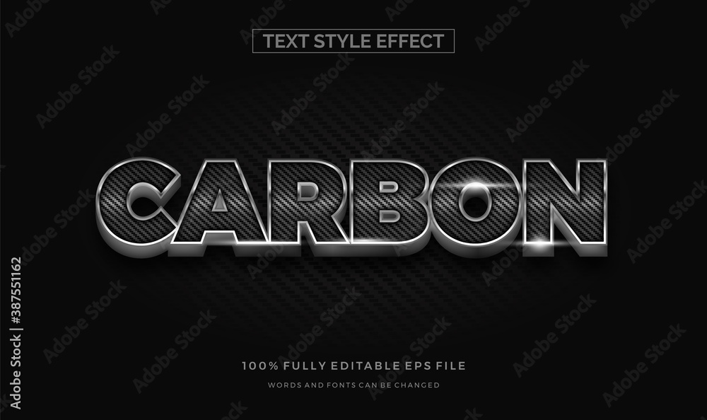 Fototapeta Modern editable text style effect illustrator. vector design template.