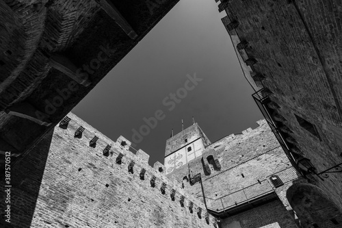 Tela The walled town of Cittadella in Italy