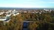 Autumn in the city of Vitebsk