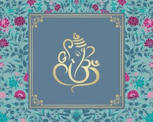 Ganesha, Wedding Card, Royal R...
