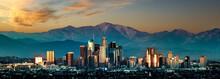Los Angeles Panorama Sunset
