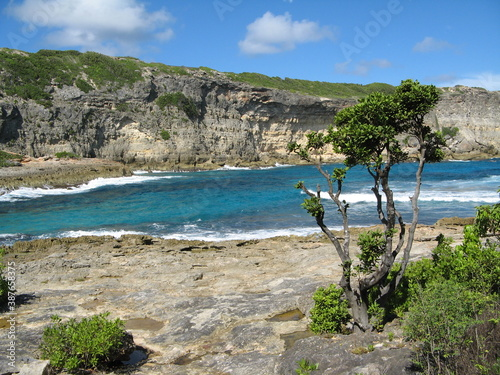 Porte d'enfer, Guadeloupe Fototapet