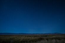 Autumn Wetlands In Moonlight