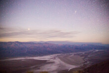Landscape View Of Death Valley...