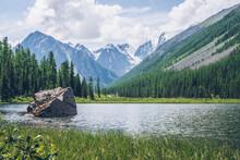 Meditative View To Beautiful L...