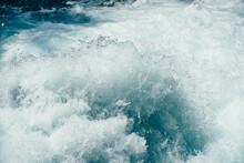 Frozen Splashing In Rapids Of ...
