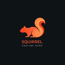 Squirrel Modern Ratio Grid Logo