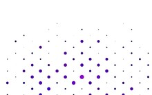 Light Purple Vector Pattern With Spheres.