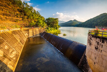 Reservoir And Spillway, Mae Thang, Phrae Province, Thailand