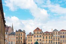 Metz, FRANCE - April 1, 2018: ...
