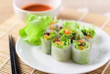 Colorful Fresh Vegetables Sala...
