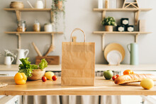 Eco Shopping Paper Bag With Fr...