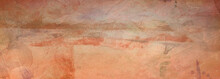 Abstract Vintage Orange Backgr...