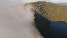 Cinematic Short Of Helvellyn Via Striding Edge, Aerial