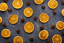 Dried Orange Slices With Star ...
