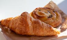 French Breakfast In Bakery Ser...