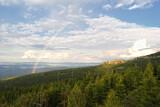 Fototapeta Rainbow - Tęcza w Karkonoszach Zachodnich.