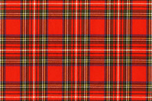 "National Scottish Woven Ornament - ""Scottish Cage"". Tartan ""Caledonia"", ""Scotch"", New Year's Background."