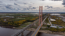 Cable-stayed Bridge Over The R...