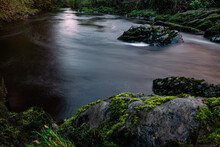 River Tavy Tavistock Toward The Tamar