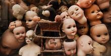 Vintage Dolls Heads. Horror, C...