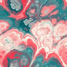 Seamless Fractal Marble Vibran...