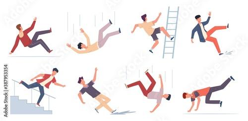Cuadros en Lienzo Falling people