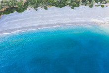 Aerial View Of The Beach In Ph...
