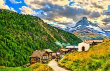 View Of The Matterhorn Mountai...