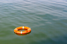 Floating Lifebuoy For Concept ...