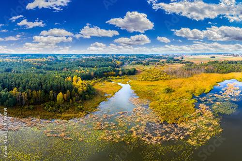 Fototapety przestrzenne  jezioro-kielarskie-kolo-olsztyna-w-polnocno-wschodniej-polsce
