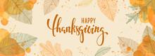 Happy Thanksgiving Brush Pen L...