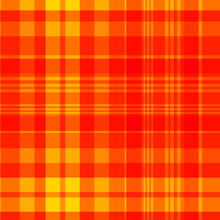 Red And Yellow Plaid Pattern