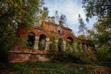 Old Ancient Abandoned Church R...