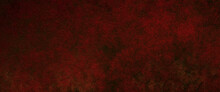 Dark Bright Red Black Background With Metal Shine, 3D Illustration Fire Textured Wall