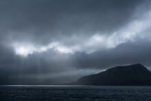 Sailing By Suðuroy Island In ...