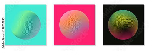 Fotografía grid planet square sequence pop shades