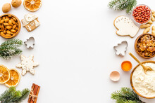 Christmas Cooking Background W...
