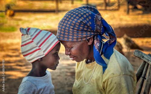 Fototapeta African love obraz
