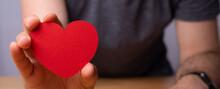Romantic Love Heart Background...