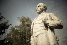 Statue Of Lenin In Chernobyl, ...