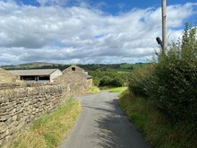 View Down, Lumb Gill Lane, Wit...
