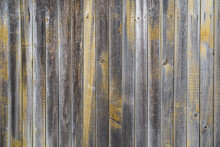 Wooden Wall From Old Gray Boar...
