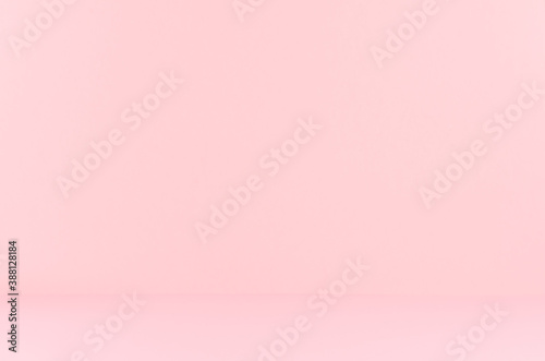 Obrazy różowe  soft-light-pastel-pink-background-with-perspective-as-room