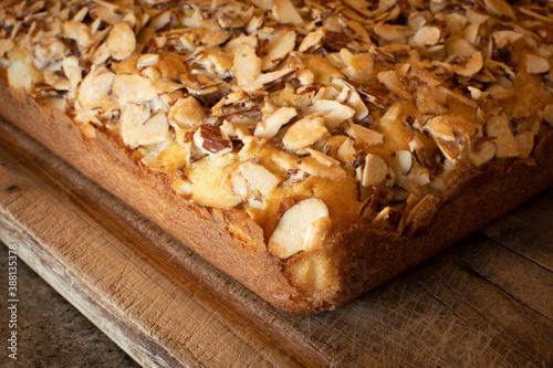 Fototapeta almond white cake obraz