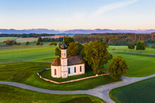 Germany, Bavaria, Etting, Dron...